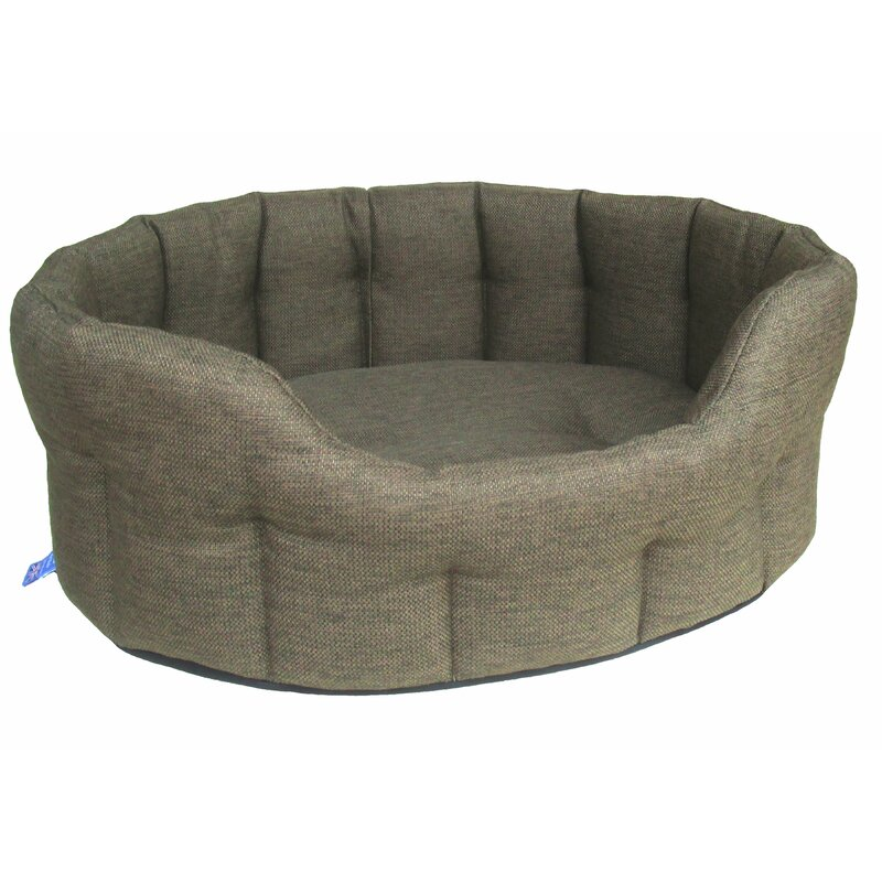 Mud Cloth Machine Washable Natural Linen Pet Bed Basket 100/% Natural and Breathable