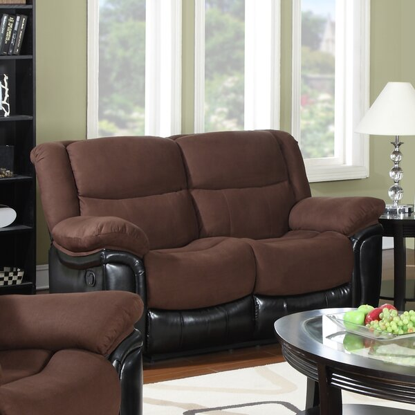 Warner Reclining Loveseat by Flair