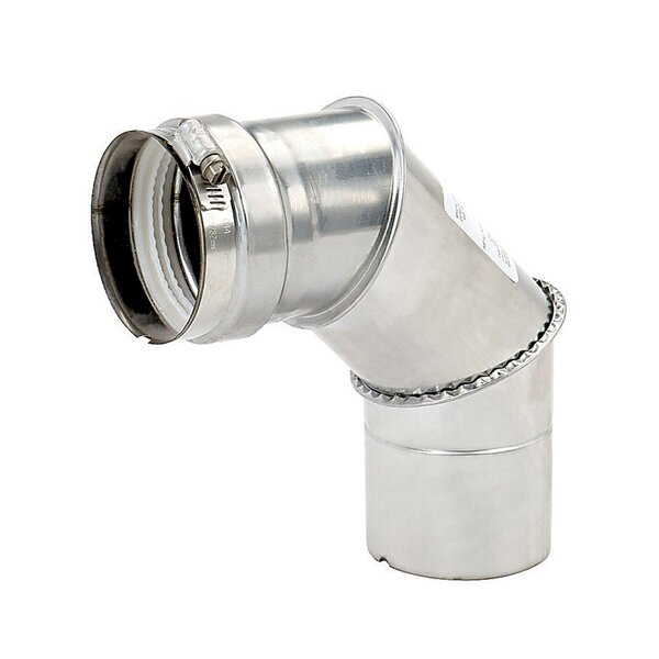 Stainless Steel Supply Elbow by Bosch Water Heaters