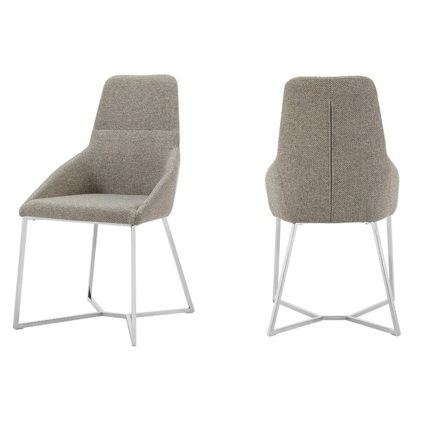 Atlas Upholstered Dining Chair (Set Of 2) By Brayden Studio
