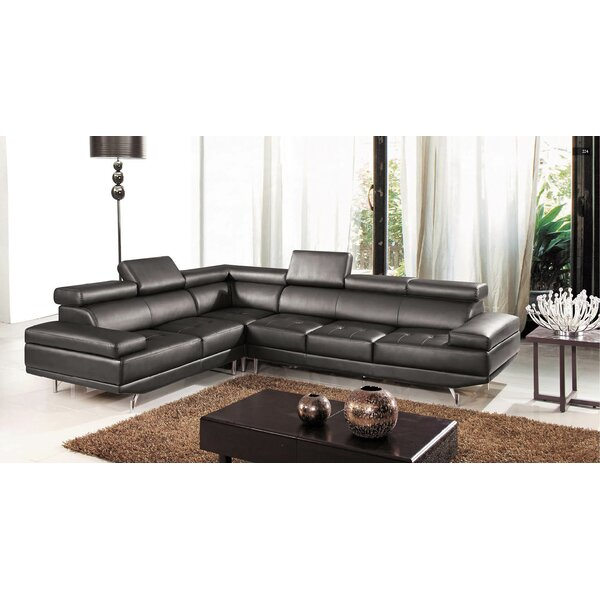 Oshkosh Reclining Sectional by Hokku Designs