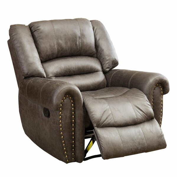 Halligan Manual Stretched Recliner by Winston Porter