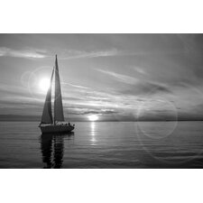 Sailboat Photographic Print on Canvas