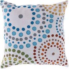 Series of Circles Outdoor Throw Pillow