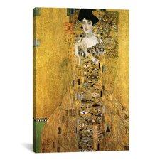 'Portrait of Adele Bloch-Bauer I' by Gustav Klimt Painting Print on Canvas