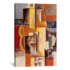 'Violin and Guitar' by Pablo Picasso Painting Print on Canvas