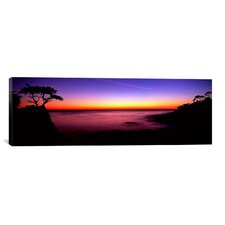 Panoramic 17-Mile Drive, Pebble Beach, Carmel, California Photographic Print on Wrapped Canvas