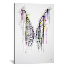 'This City Sleeps' by Marc Allante Painting Print on Wrapped Canvas