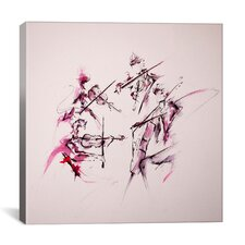 'Quartet' by Marc Allante Painting Print on Wrapped Canvas