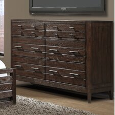 Hampton 6 Drawer Dresser by Cresent Furniture