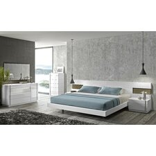 Amora Platform Customizable Bedroom Set by J&M Furniture