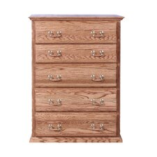5 Drawer Chest by Forest Designs