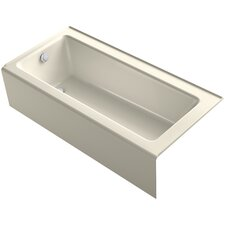 "Bellwether 66"" x 32"" Alcove BubbleMassage Air Bathtub"