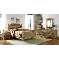 Mandalay Panel 5 Piece Bedroom Set by Spice Islands Wicker