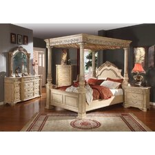 Sienna Canopy Customizable Bedroom Set by Meridian Furniture USA