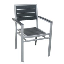 Outdoor Patio Arm Chair by DHC Furniture