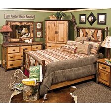 Hickory Panel Customizable Bedroom Set by Fireside Lodge