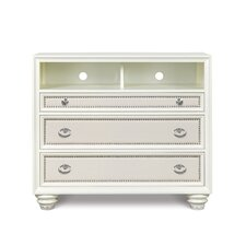 Augustina 3 Drawer Media Chest by House of Hampton