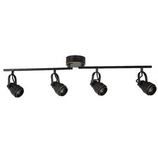 4-Light LED Full Track Lighting Kit