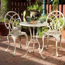Bardon 3 Piece Bistro Set by Rosalind Wheeler