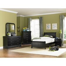 Bader Sleigh Customizable Bedroom Set by Darby Home Co®