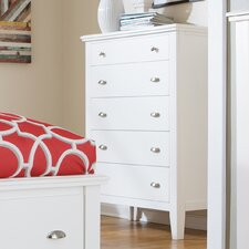Wagonhouse 5 Drawer Chest by Red Barrel Studio®