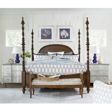 Dogwood Four Poster Customizable Bedroom Set by Paula Deen Home