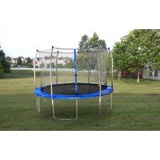 12' Round Trampoline with Safety Enclosure