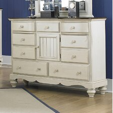 Mertie 9 Drawer Combo Dresser by August Grove®