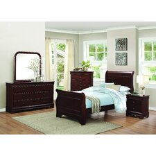 Abbeville Sleigh Customizable Bedroom Set by Homelegance Price