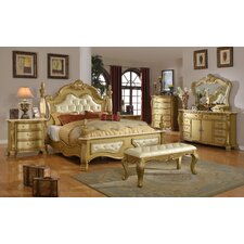 Lavish Panel Customizable Bedroom Set by Meridian Furniture USA