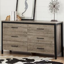 Munich 6 Drawer Double Dresser by South Shore