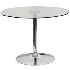Round Glass Dining Table by Flash Furniture