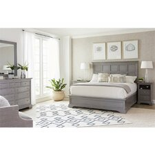 Transitional Panel Customizable Bedroom Set by Stanley Furniture