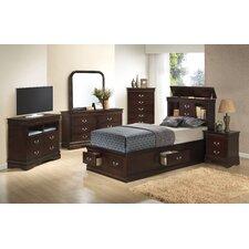 Corbeil Storage Platform Customizable Bedroom Set by Lark Manor