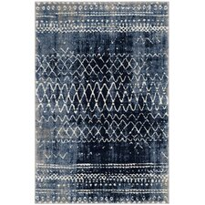 Luoma Blue Area Rug