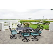 Traditions 9-Piece Square Dining Set by Hanover