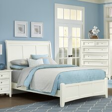 Gastelum Wood Sleigh Bed by Darby Home Co®