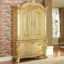 Zelda Armoire by Meridian Furniture USA