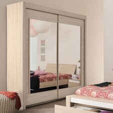 Mallow 2 Door Wardrobe Armoire by Parisot