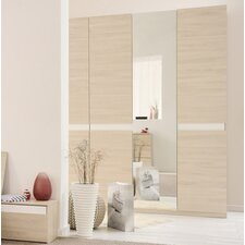 Mallow 3 Door Wardrobe Armoire by Parisot