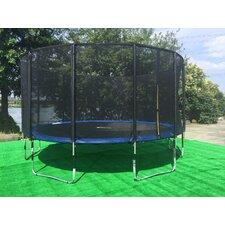 15' Round Trampoline with Safety Enclosure
