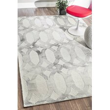 Sheerness Navy Blue / Light Gray Area Rug