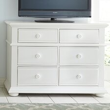 Landenberg 6 Drawer Media Chest by Breakwater Bay
