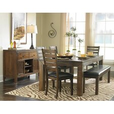 Bourg 6 Piece Dining Table Set By Loon Peak® Online Cheap