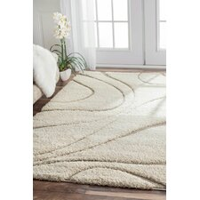 Berenson Cream Curves Area Rug