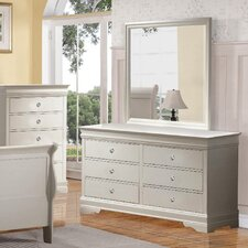 Caldello 6 Drawer Dresser by Darby Home Co®