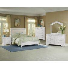 Aldridge 4 Drawer Storage Dresser with Mirror by Darby Home Co®