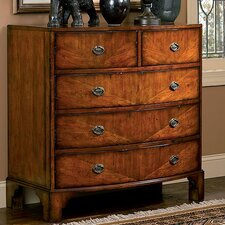 Williamsburg House 5 Drawer Accent Chest by HeatherBrooke Furniture
