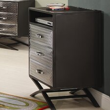 Spaced Out 3 Drawer Chest by Woodhaven Hill